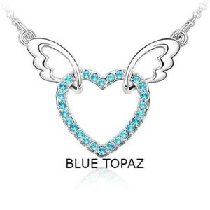 Jewelry - Beautiful Flying Heart Necklace